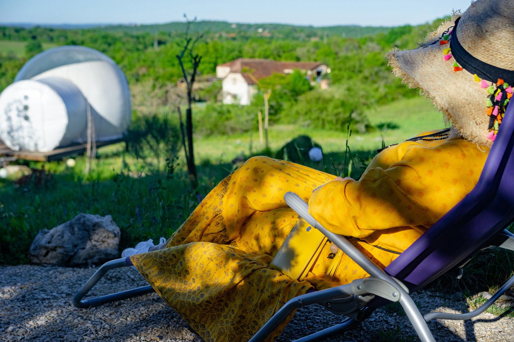 Hébergement insolite vacances Lot Occitanie